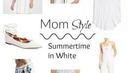 Summertime in White