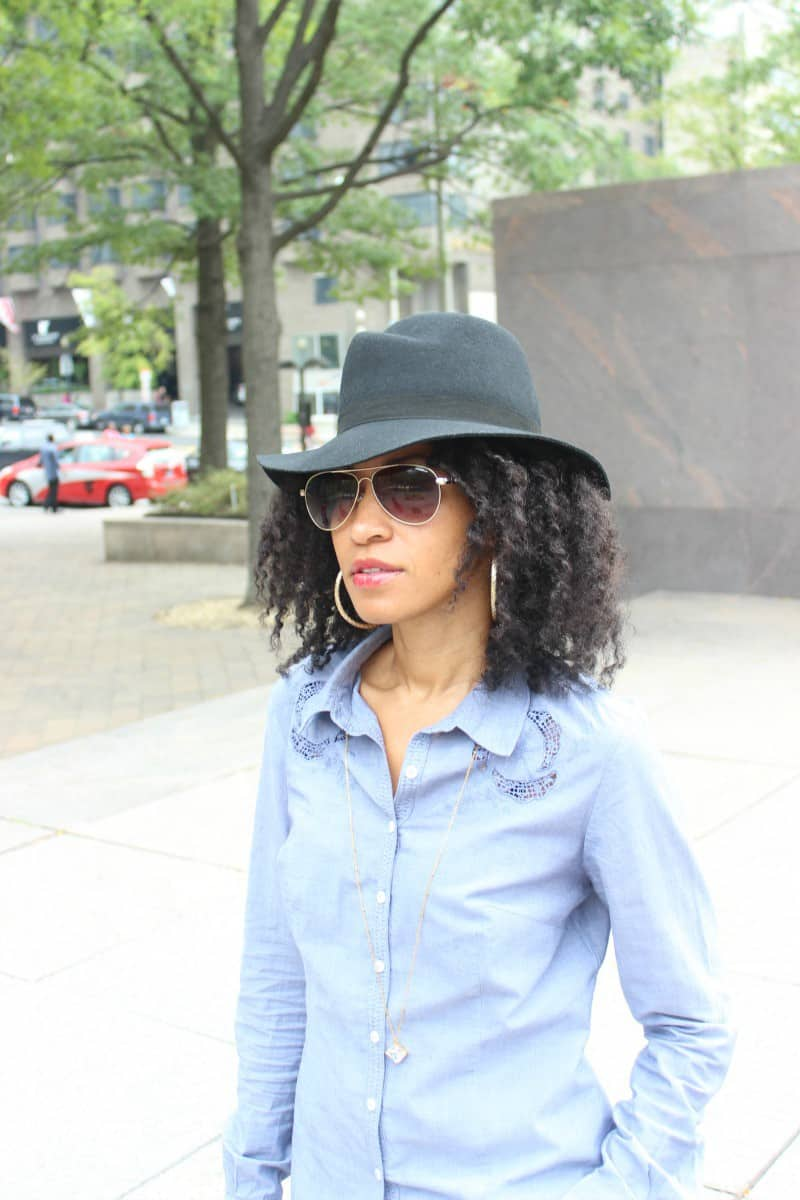 jack and lucy felt wide brimmed hat