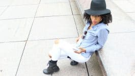 How to Wear Chambray and White in Fall