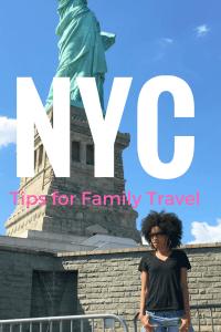 new york city tips for family travel