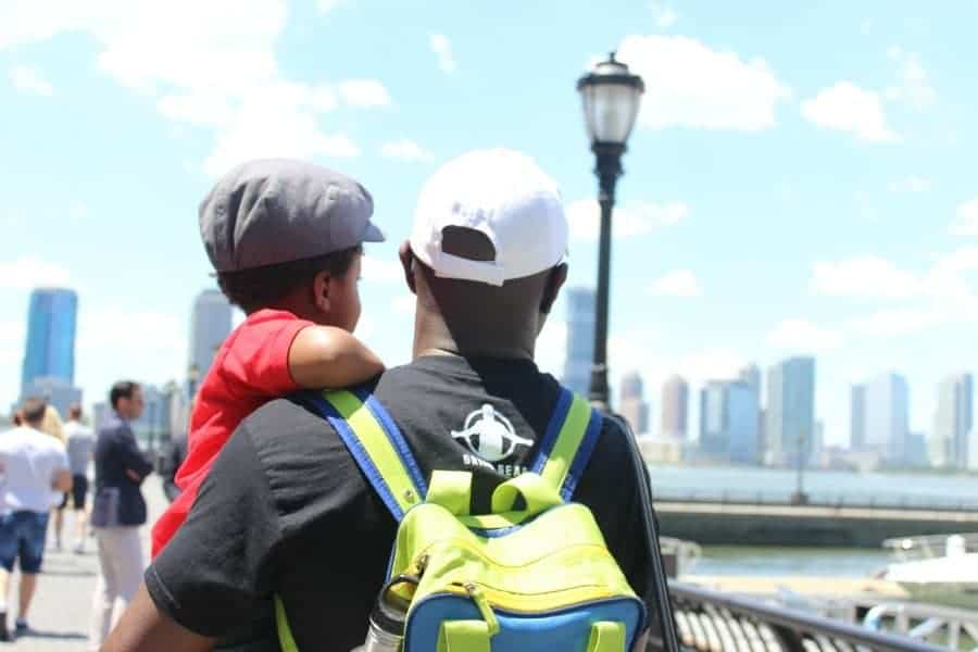father-and-son-in-new-york-city