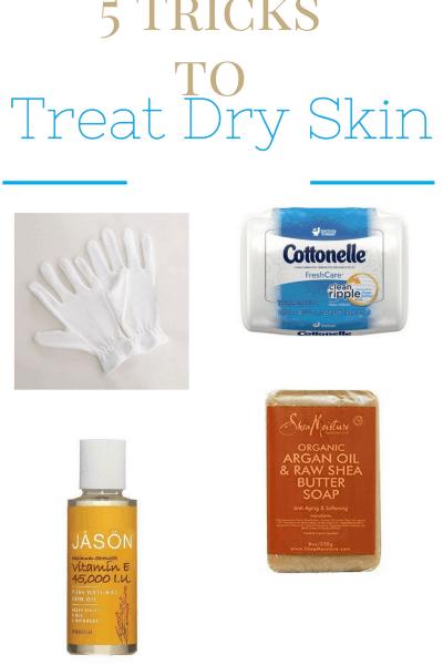 tricks to treat dry winter skin