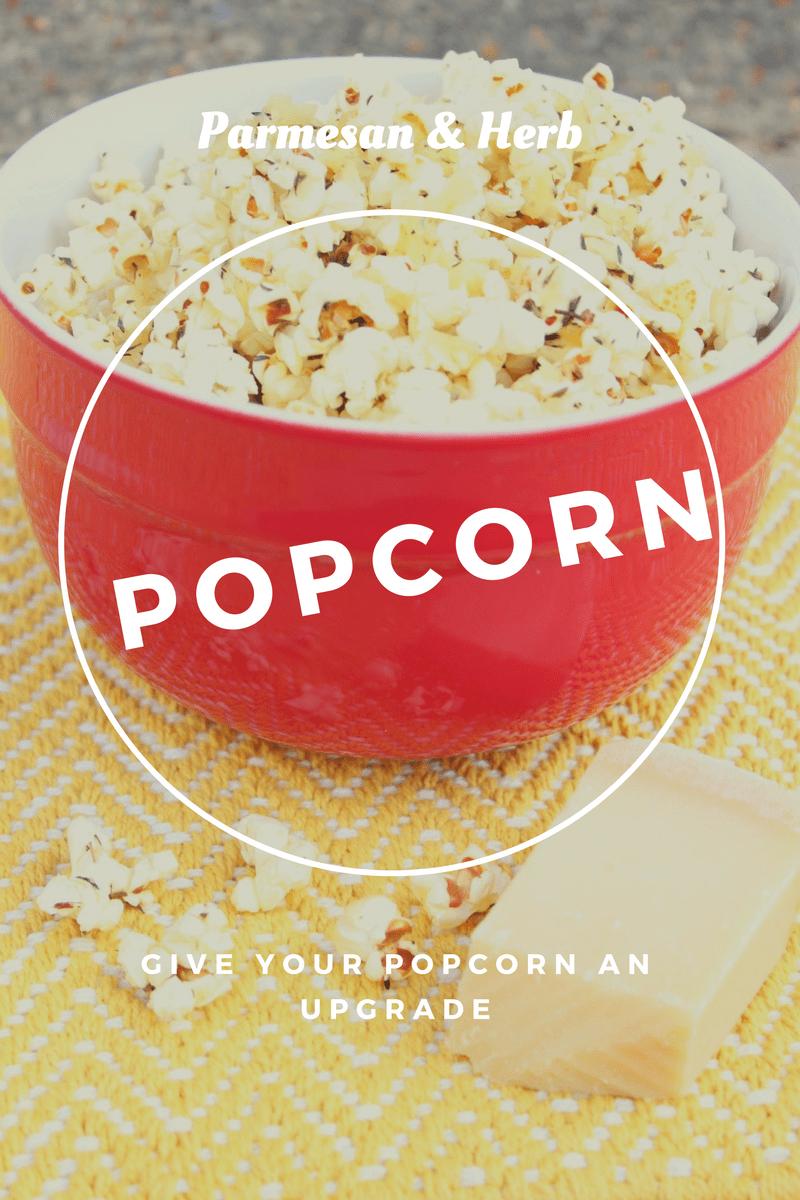 oscar parmesan herb popcorn