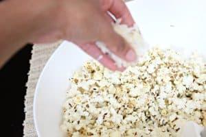 parmesan cheese herb popcorn