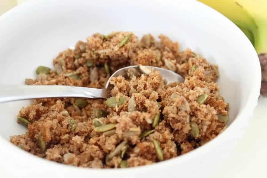 grain free gluten free granola