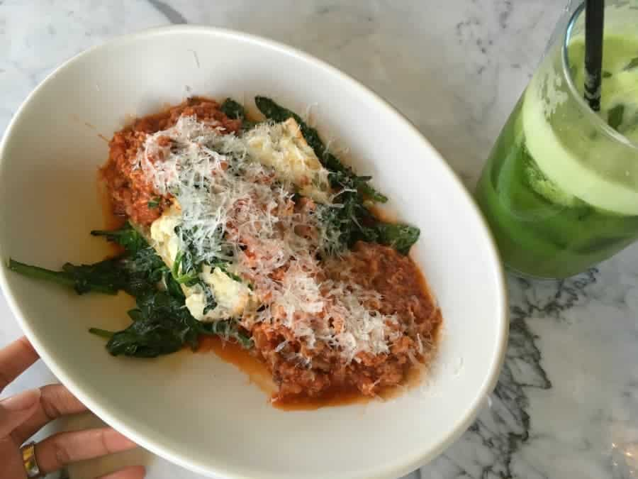 gluten free lasagna true food kitchen