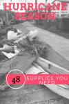 Hurricane Irma St. Thomas. supplies you need for a hurricane