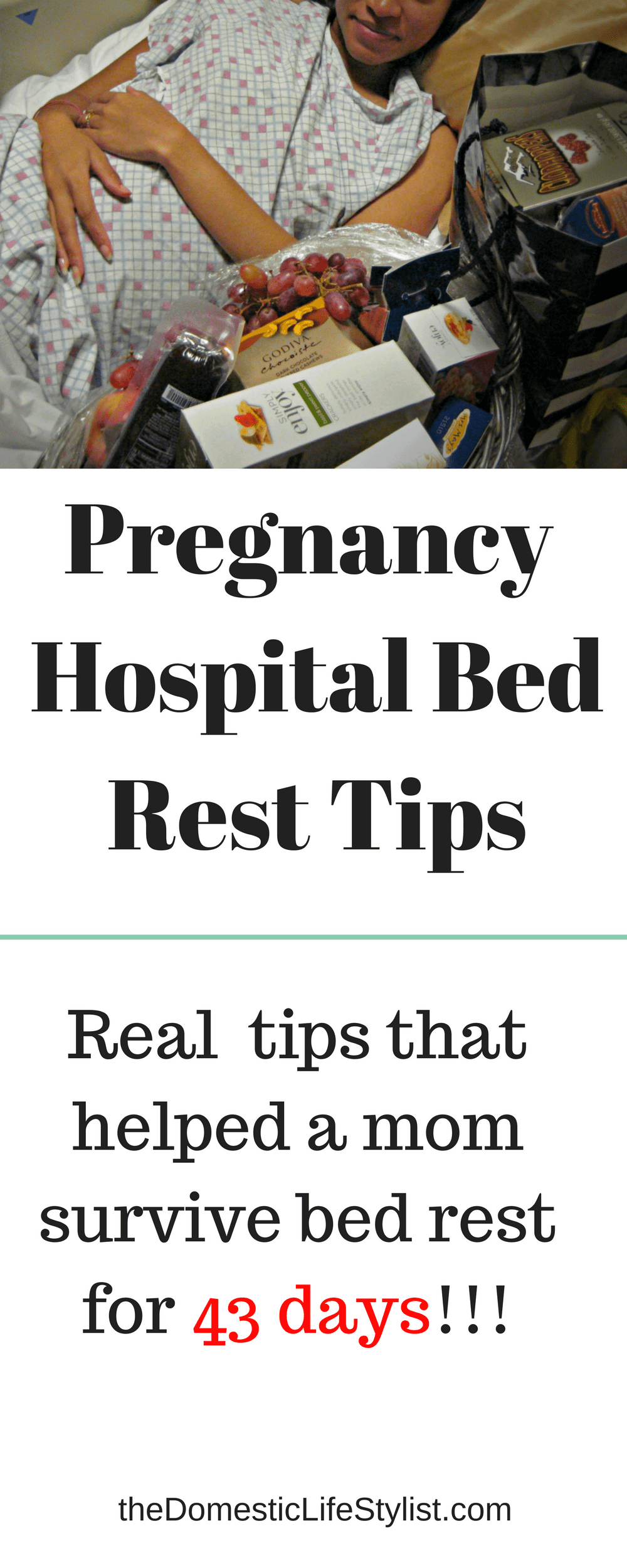 How to survive hospital bed rest while pregnant