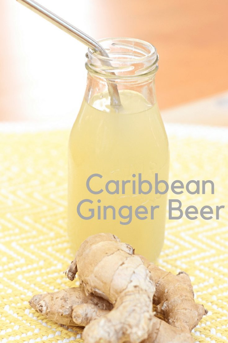 This spicy tasty ginger drink is a Caribbean staple and a favorite that you can make at home.