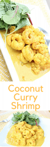 A tasty Caribbean recipe for coconut curry shrimp.