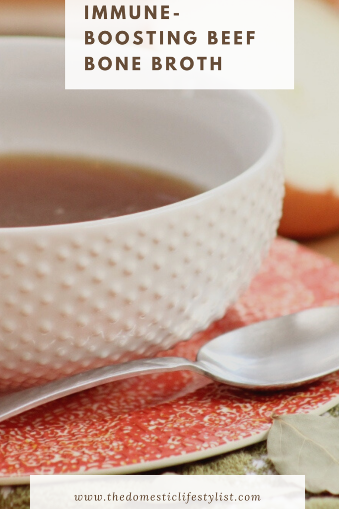 Try this easy to make immune boosting bone broth. So good and better than store bought!