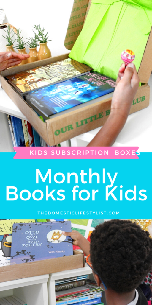 Kids Subscription Boxes: Where to get monthly books for kids