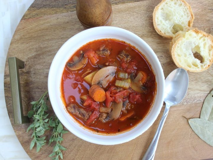 Gluten Free Beef Stew With A Kick Using Organic Beef The Domestic Life Stylist