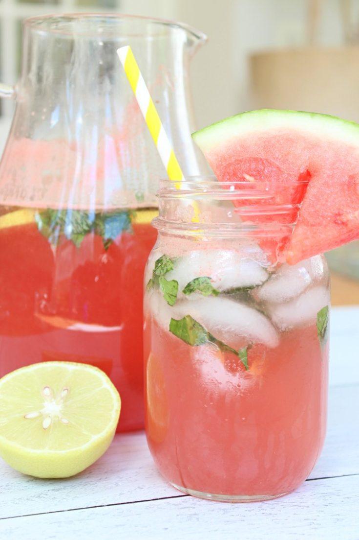 Easy Melon Lemonade