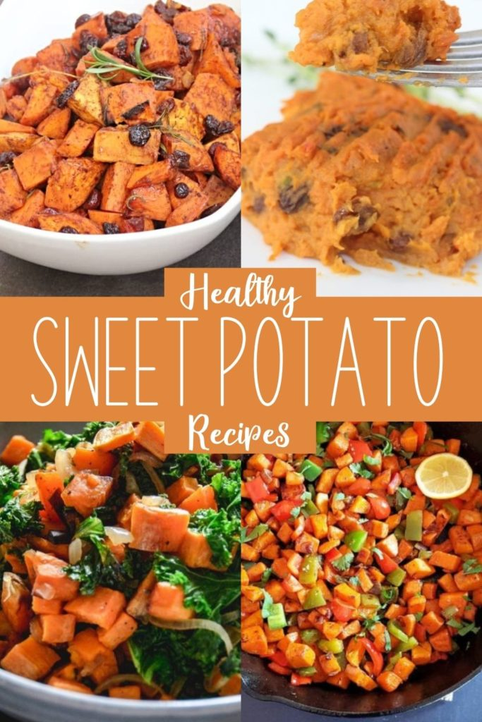 Collection of sweet potato recipes