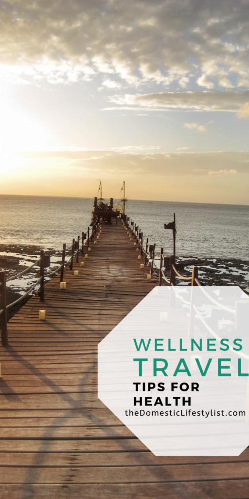 Wellness travel pier in Bali
