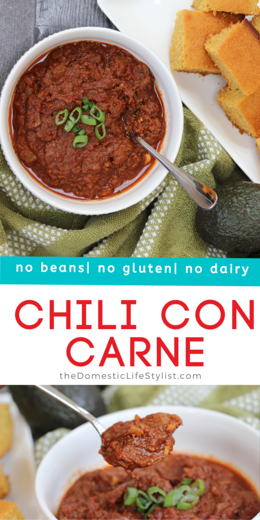 Easy slow cooker no bean chili con carne