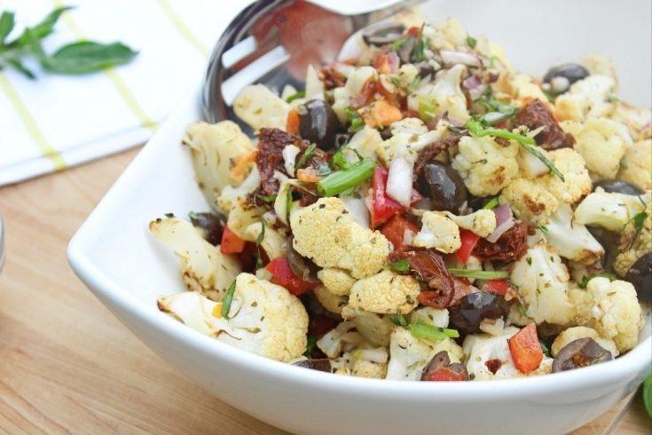 Must Try Mediterranean Cauliflower Salad