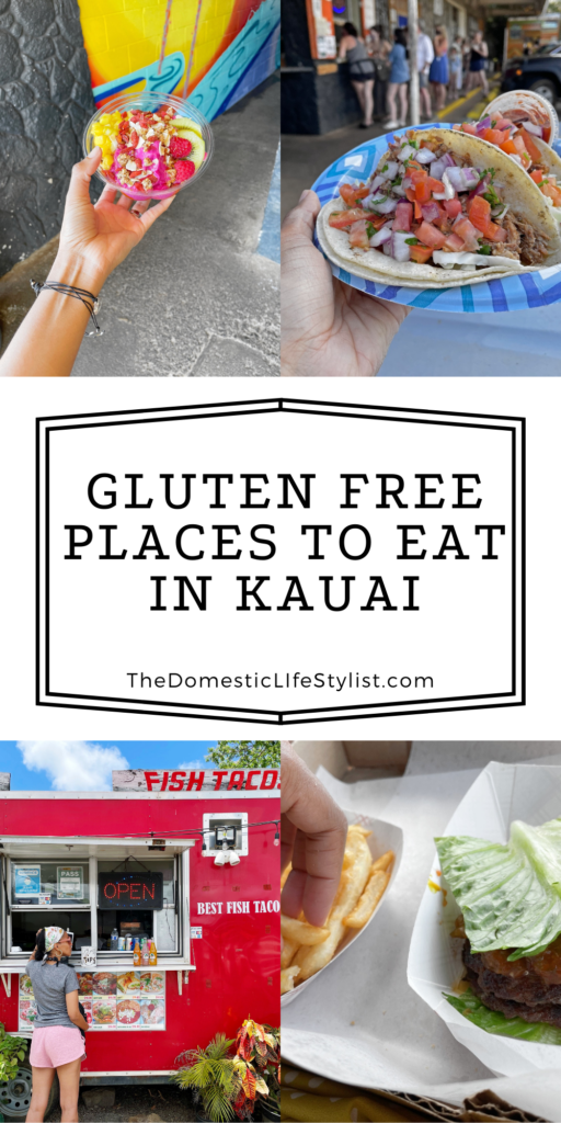 Best gluten free places to eat in Kauai
